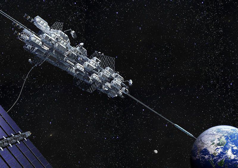 إن كنت تظنّ أنَّ المصاعد الفضائية ليست مثيرة حقًا فالأكثر إثارة هو أنها قد تصلح نفسها أيضًا