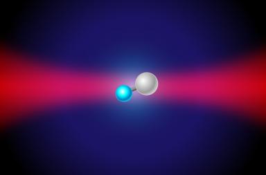 هل أصبح بإمكاننا أخيرًا رؤية الذرات في أثناء اندماجها؟ - كيفية اتحاد الذرات لتكوين الجزيئات - ترتبط ذرات الربيديوم لتشكل جزيئات من الديربيديوم