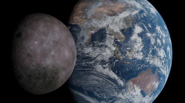 مفاجأة: الأرض والقمر ليسا مصنوعين من المواد الخام ذاتها!