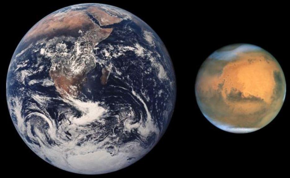 كيف س تؤثر الحياة على المريخ على جسم الانسان ؟