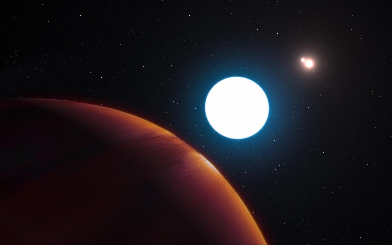 اكتشاف كوكب خارجي في نظام ثلاثي الشموس