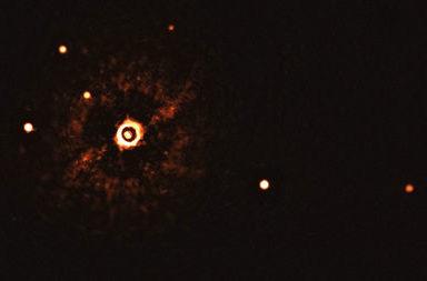 تصوير نظام متعدد الكواكب يدور حول نجم شبيه بالشّمس للمرة الأولى على الإطلاق - كوكبين عملاقين يدوران حول نجم شبيه بالشمس - الكواكب الخارجية