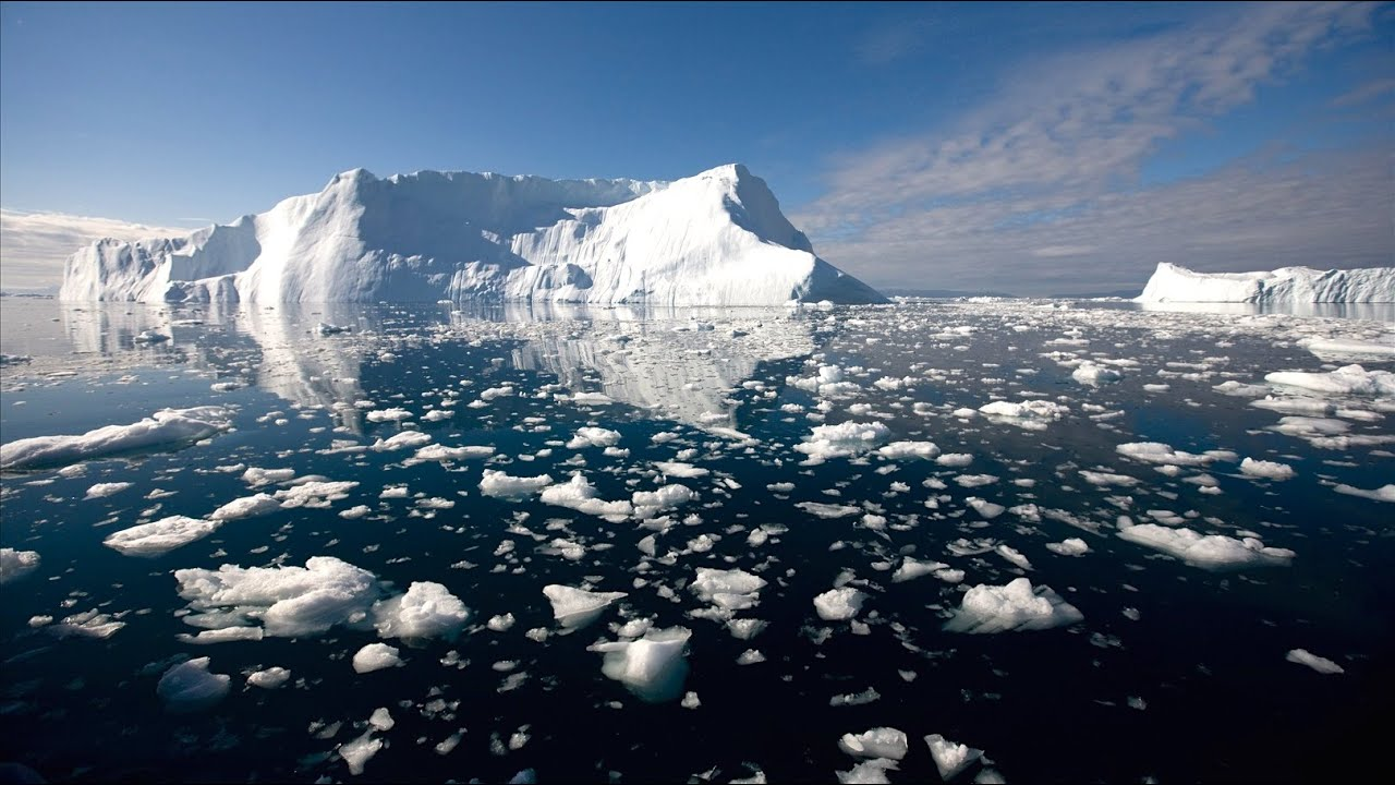 القطب الشمالي سيصبح خاليًا من الجليد في الصيف - اختفاء الجليد البحري - المساحات المغطاة بالغطاء الجليدي البحري - ذوبان الثلوج
