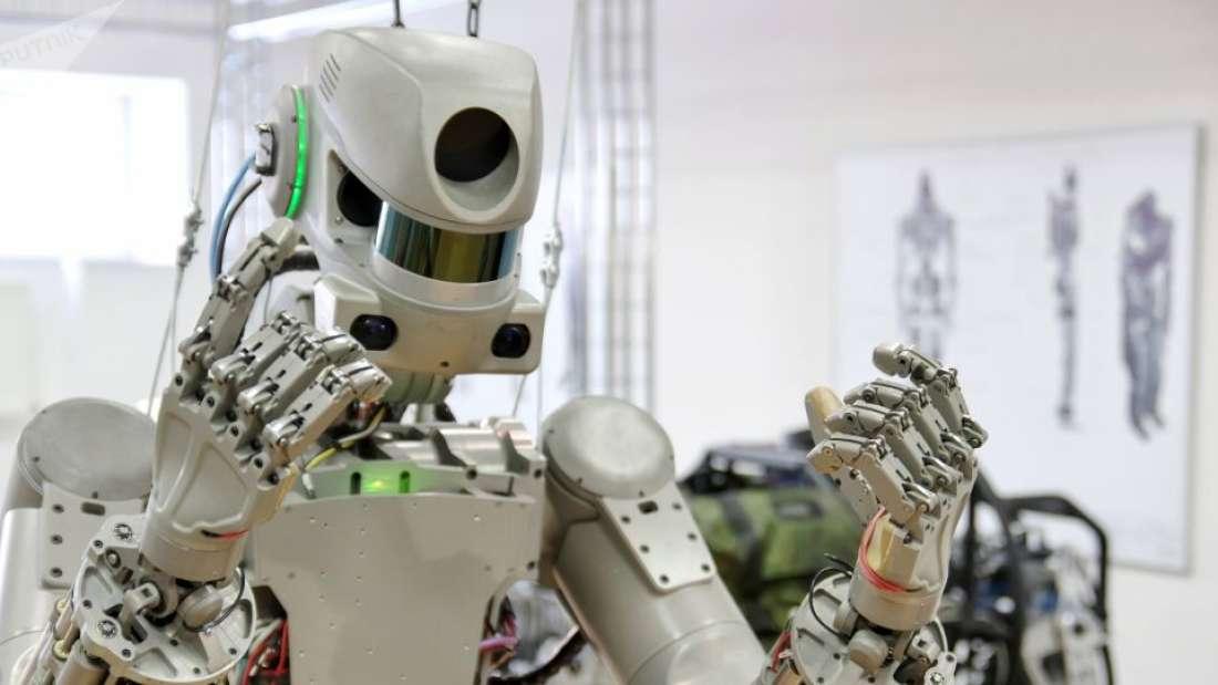 إرسال روبوت شبيه بالبشر إلى محطة الفضاء الدولية الأسبوع المقبل