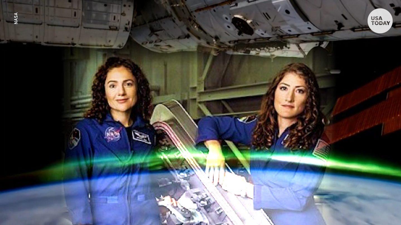 ناسا تصنع التاريخ: أول مهمة مشي في الفضاء الخارجي تقوم بها نساء فقط