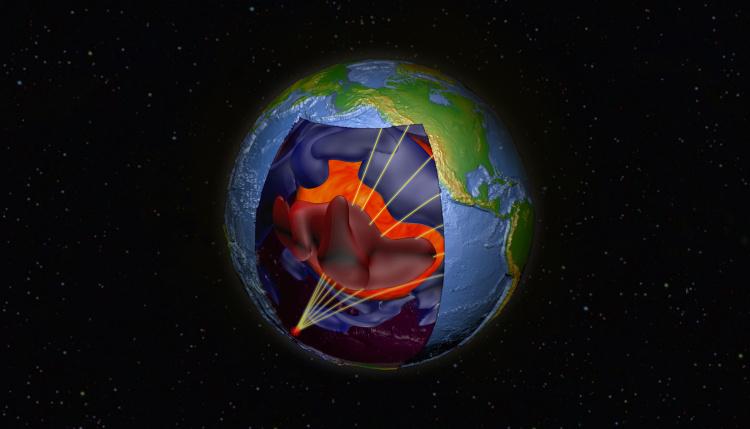 وشاح الأرض يمكن أن يخفي شذوذ الصخور دون تغيير لمليارات السنين