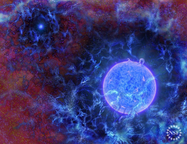 ظهور أدلة جديدة توحي بأن النجوم الأولى تشكلت أسرع بكثير مما كنا نعرف
