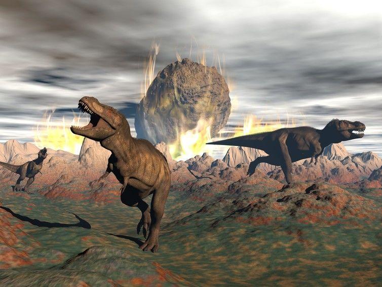 هل يمكن أن تشهد الأرض انقراضًا جماعيًا خلال العشرة ملايين سنة القادمة بسبب اصطدام كويكبات؟