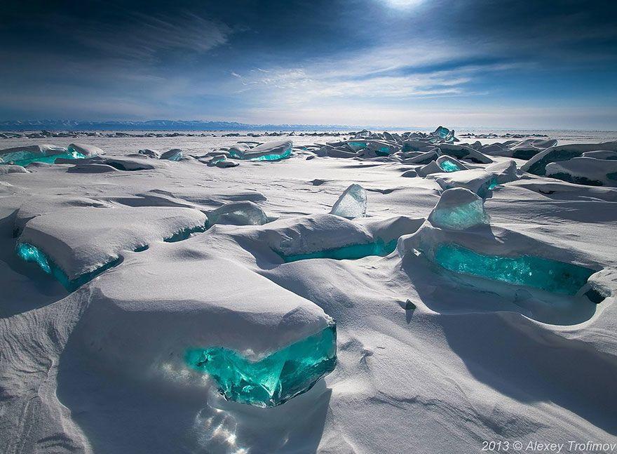 أنواع البنى الجليدية