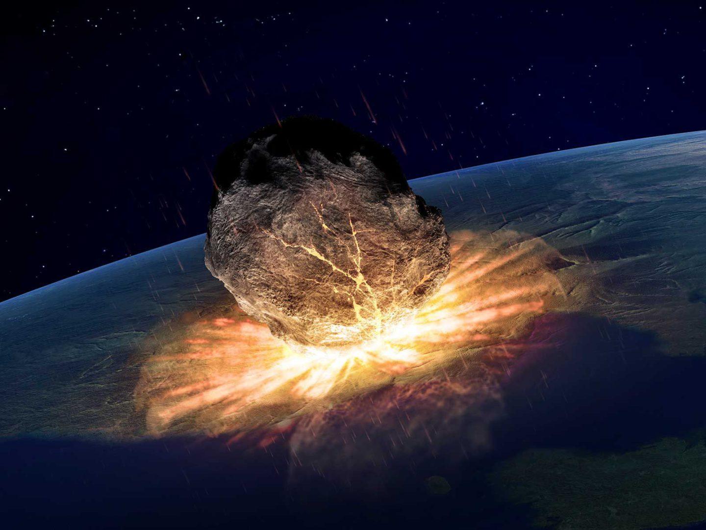 كويكب مظلم كان وراء تشكل فوهة تشيكشولوب وانقراض الديناصورات