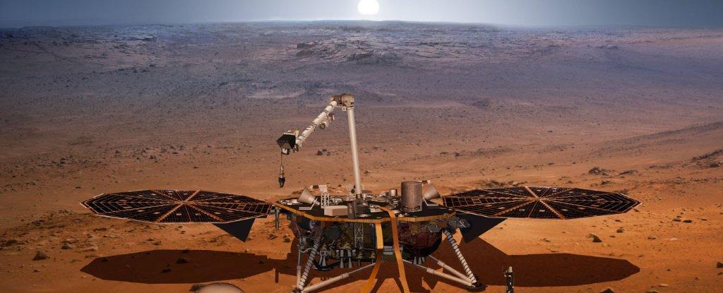 المجال المغناطيسي المحيط بالمركبة (إنسايت) التابعة لناسا أقوى بعشرة أضعاف من المتوقع - بدراسة الطبيعة الداخلية لكوكب المريخ