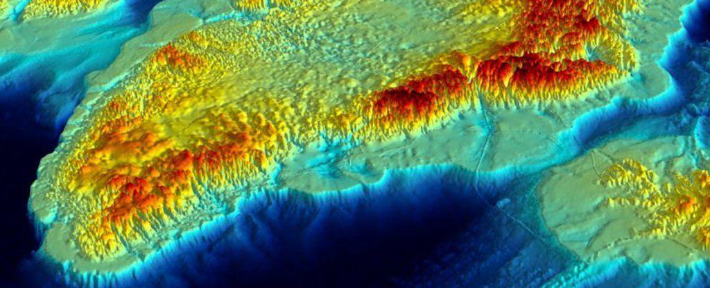 خريطة جديدة لما تحت جليد غرينلاند تظهر إرتفاع مستوى البحر
