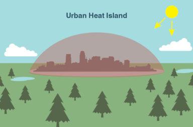 ظاهرة غريبة تسبب تفاوت في درجات الحرارة بين داخل المدن وخارجها - تأثير يحول المدن إلى جزر من الحرارة - الجزر الحرارية وآثارها