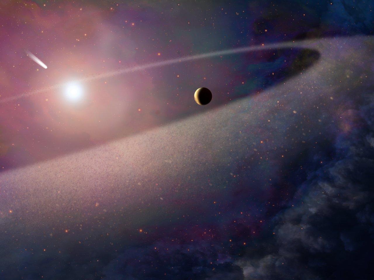 في سابقة فلكية، رصد أدلة على وجود كوكب يدور حول قزم أبيض