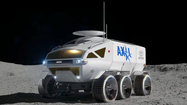 تخطط وكالة الفضاء اليابانية بالتعاون مع شركة تويوتا لإطلاق عربة جوالة إلى القمر