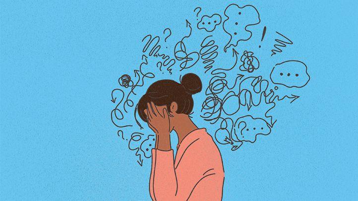 ما الذي يحدث في دماغ شخص مصاب بالاكتئاب والقلق معًا - العلاقة بين الدماغ والأمراض النفسية - أكثر الاضطرابات النفسية انتشارًا - الاكتئاب والقلق