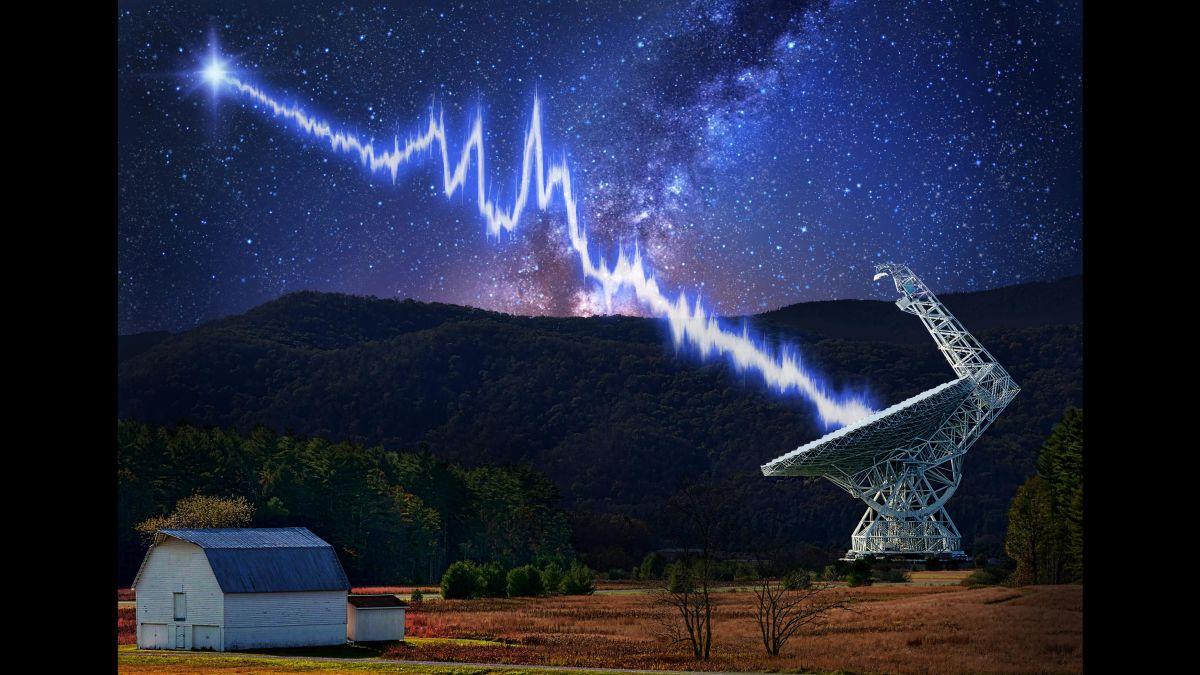 موجات راديوية غريبة تتكرر كل 157 يومًا