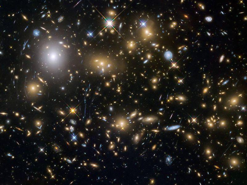 متى تكونت المجرات أو متى بدأت المجرات بالتكون في الكون؟