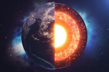 هل يبلغ عمر لب الأرض مليار عام فقط - تصلب اللب الداخلي للأرض - تقوية المجال المغناطيسي للأرض - قشرة خارجية صلبة ودرجة حرارة مرتفعة ومعادن مائعة