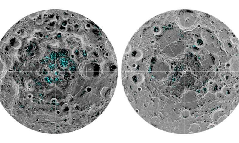 تأكيد وجود الماء على سطح القمر