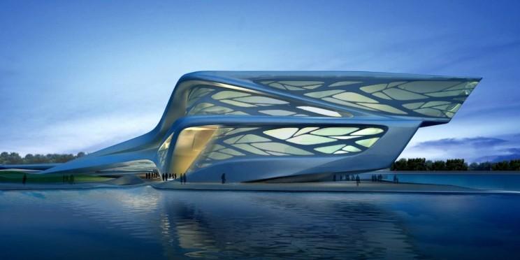 تصميم المهندسة المعمارية زها حديد