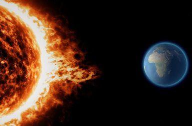 قد تكون العواصف الشمسية المدمرة واردة الحدوث أكثر مما اعتقدنا الغلاف المغناطيسي للأرض مخاطر الطقس الفضائي الخسوف الشمسي العاصفة الشمسية