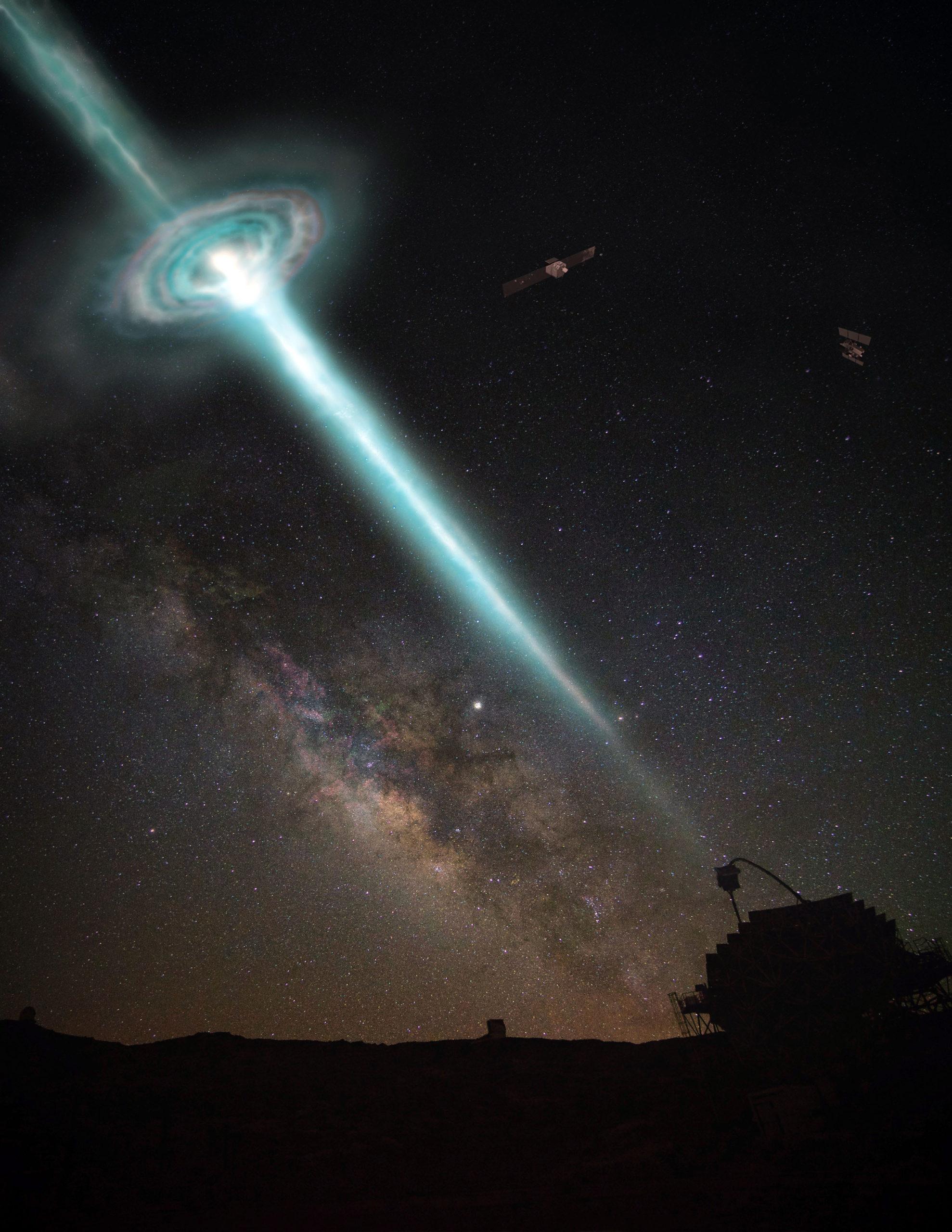 أقوى انفجار لأشعة غاما.. تأكيد آخر على النسبية العامة - أقوى انفجار نرصده لأشعة غاما على الإطلاق - اختبار جديد دقيق لنظرية النسبية العامة - تناظر لورنتز