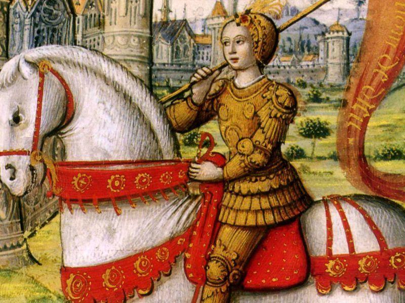 معلومات عن البطلة الفرنسية التاريخية جان دارك