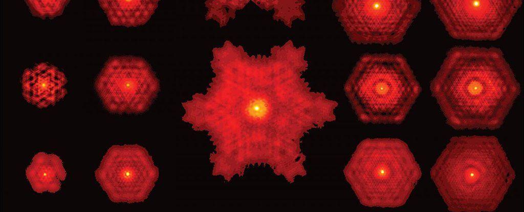لأول مرة على الإطلاق، ينتج العلماء ضوءًا ذا نمط هندسي متكرر من الليزر !