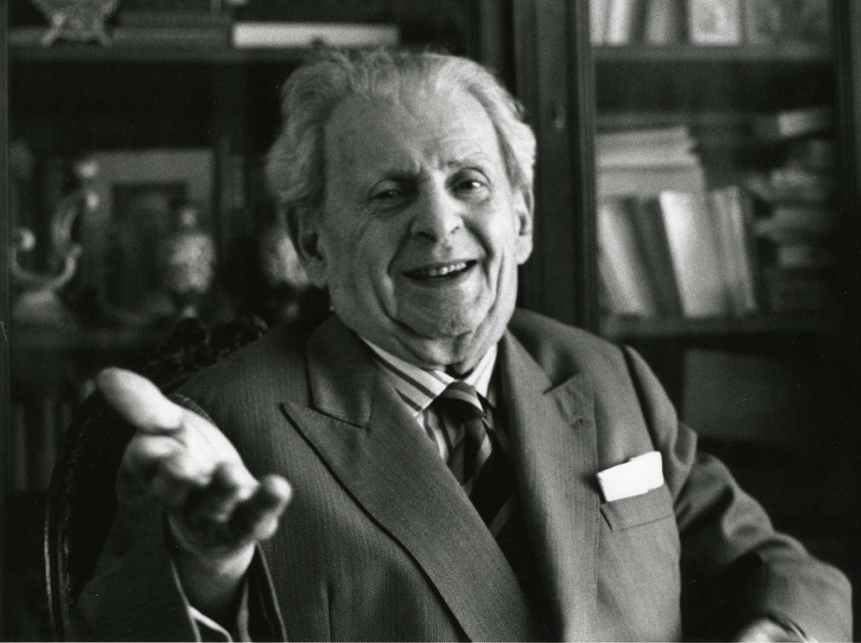 الفيلسوف الفرنسي إيمانويل ليفيناس