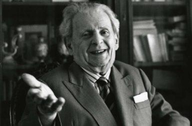 الفيلسوف الفرنسي إيمانويل ليفيناس - فيلسوف فرنسي ليتواني الأصل، اشتهر بنقده اللاذع لتفوق الأنطولوجيا - الفيلسوف الألماني مارتن هايدجر