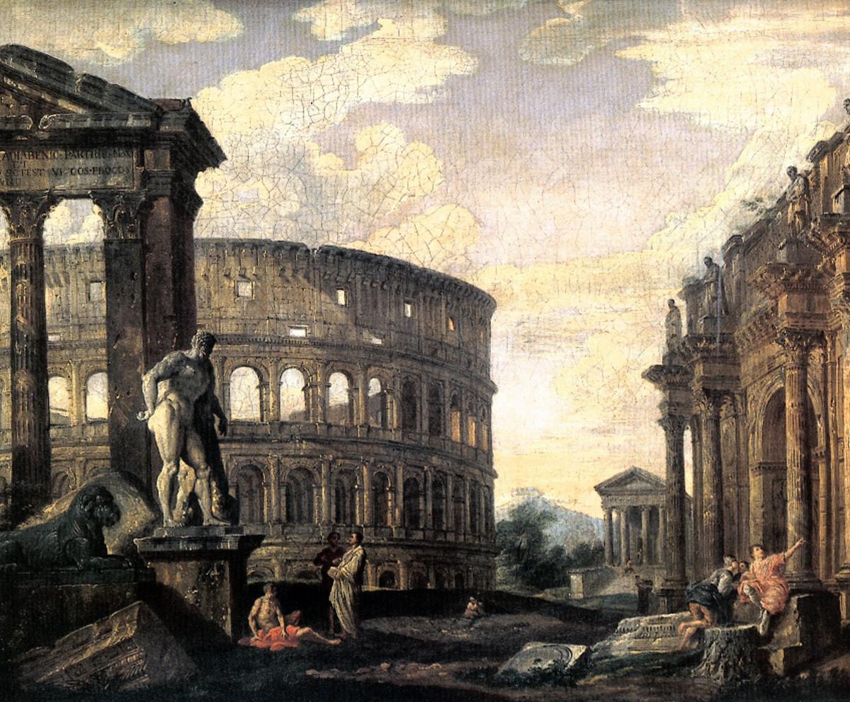 الأسباب التي أدت إلى سقوط الحضارة الرومانية