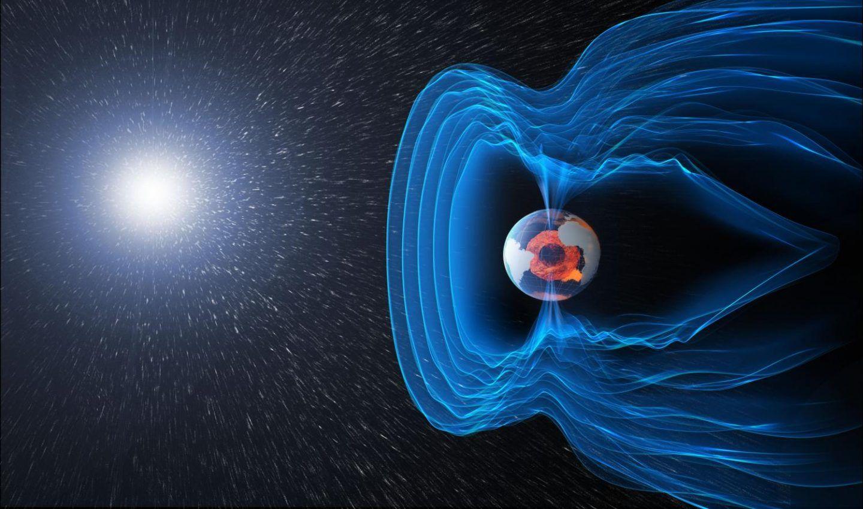انفجار الجسيمات المشحونة ضمن الغلاف المغناطيسي الأرضي