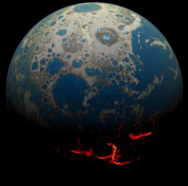 كيف سيبدو كوكب الأرض لو لم توجد الحياة على سطحه؟