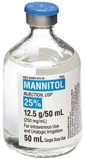 مانيتول: الاستخدام والجرعة - دواء لتخفيف التورم والضغط داخل العين أو حول الدماغ - تخليص الجسم من السموم والكميات الزائدة من الماء