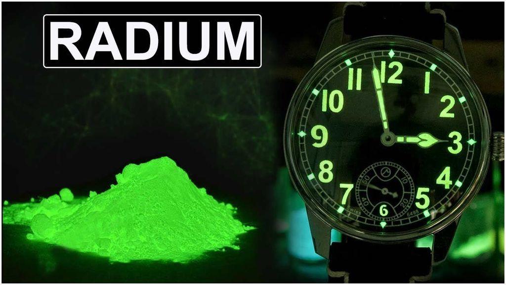 معلومات وحقائق عن الراديوم