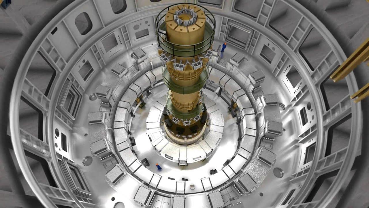 التجهيز لأكبر تجربة اندماج نووي في العالم