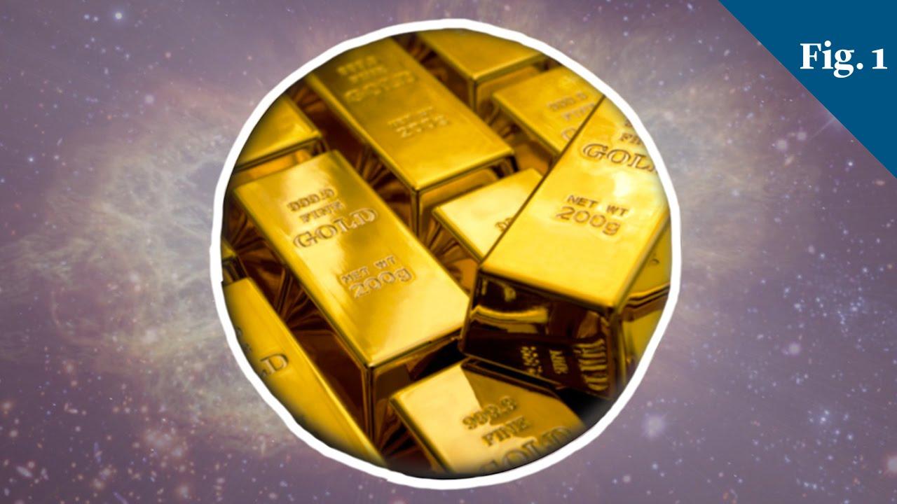 دراسة تفند ما سبق حول مصدر كل الذهب في الكون
