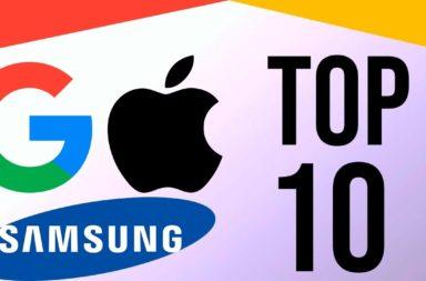أكبر الشركات التقنية في العالم - أكبر شركات التكنولوجيا المهيمنة على الأسواق في العالم - أضخم شركات التقنية حول العالم - أبل سامسونج غوغل
