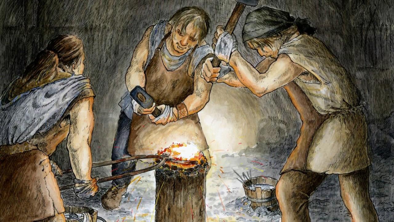 العصر الذي دبأ فيه البشر باستخدام الحديد والفولاذ بدل البرونز - الحضارات التي انهارت والحضارات التي ازدهرت خلال العصر الحديدي