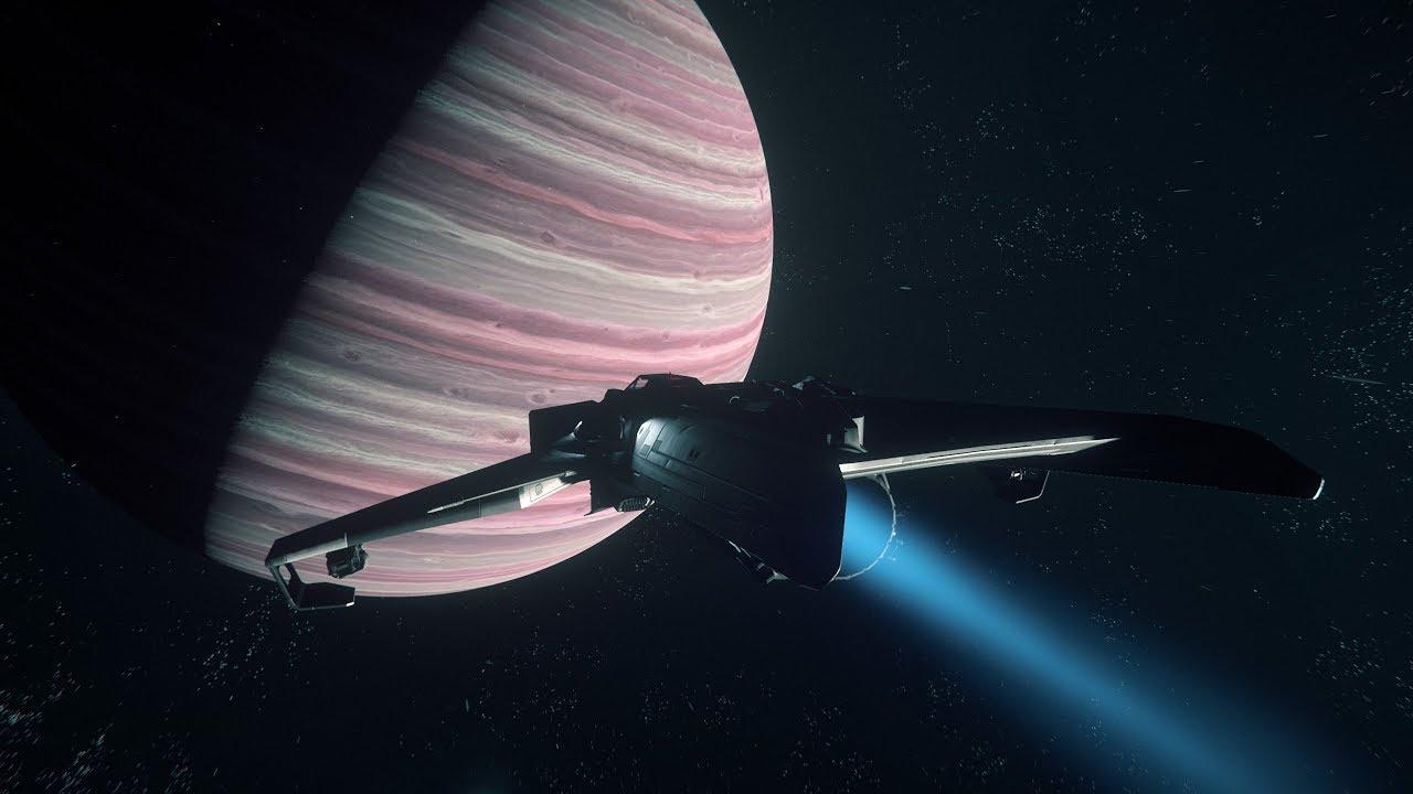 هل تستطيع سفن الفضاء اختراق عملاق غازي مثل المشتري؟