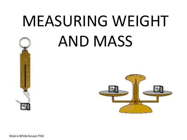ما الفرق بين الكتلة والوزن ما هي وحدة قياس الكتلة ووحدة قياس الوزن أنا أصدق العلم
