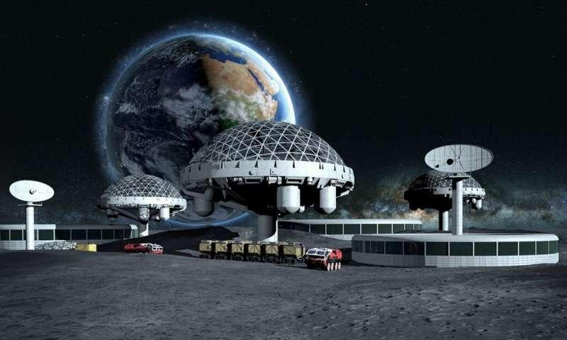 يشتبه الجيولوجيون بوجود كنوز من المعادن الثمينة مدفونة تحت سطح القمر