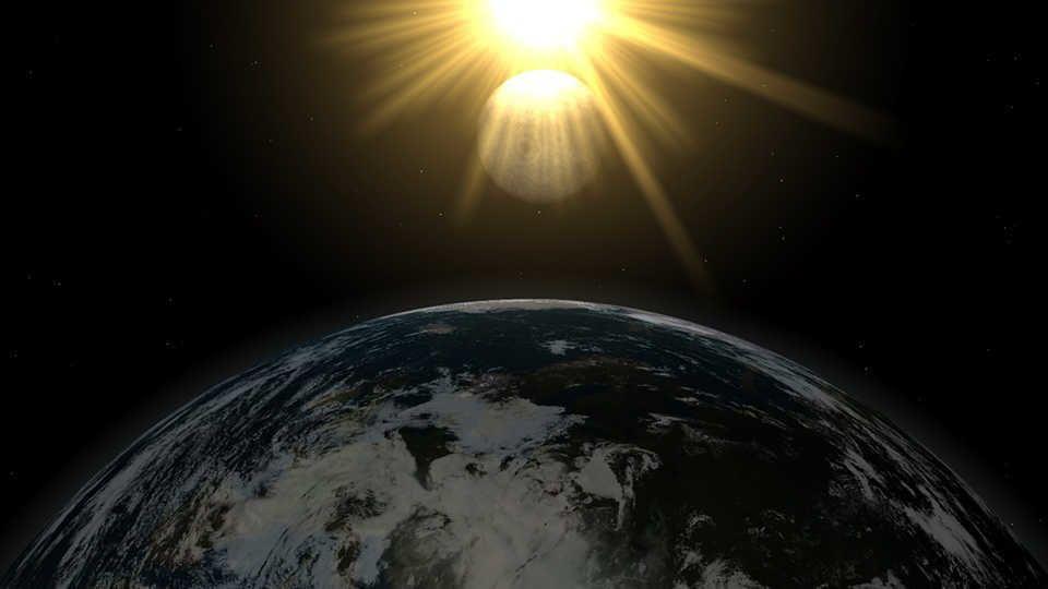 كم تبعد الشمس عن الأرض ؟