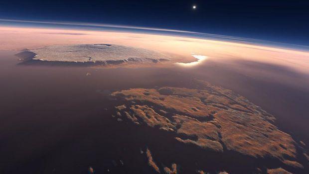 تعرف على أكبر بركان في المجموعة الشمسية