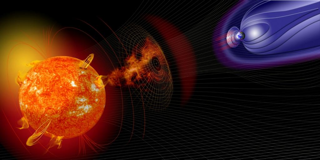 ما هو الطقس الفضائي ؟ وكيف يؤثر علينا؟