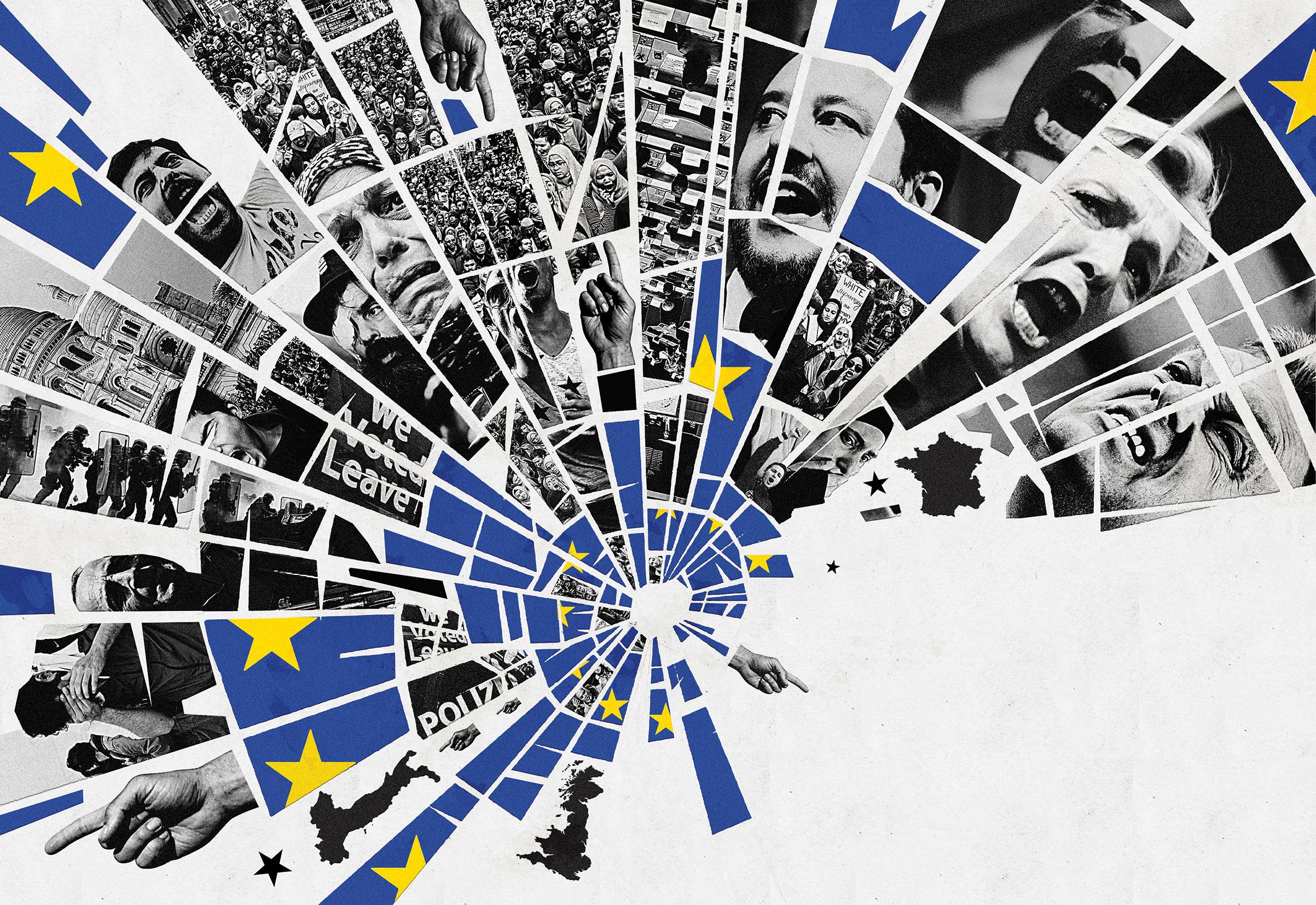خلق أوروبا: خطاب الحضارة - مقاييس النظام الليبرالي العالمي - النسيج الثقافي الأوروبي - العالم المعاصر بتكوينه الاقتصادي والسياسي والاجتماعي