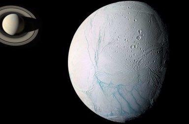 إنسيلادوس زحل القمر النظام الشمسي الحياة