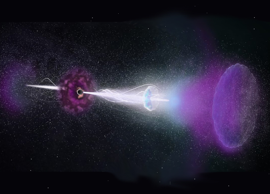 الوميض الناتج عن انفجارات أشعة غاما يبدو كأنه يعود في الزمن الى الخلف!