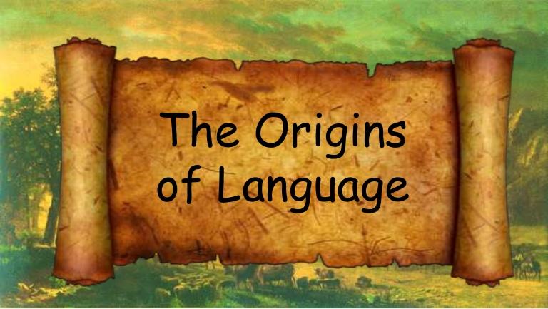 أصول اللغة البشرية تعود إلى 25 مليون سنة!
